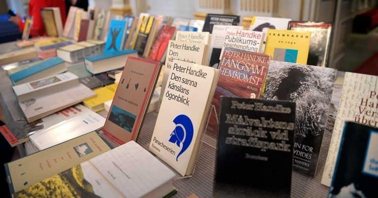 Större intresse för Olga Tokarczuk än för Peter Handke i bokhandeln