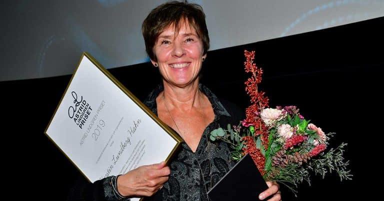 Författaren Kerstin Lundberg Hahn får Astrid Lindgren-priset 2019