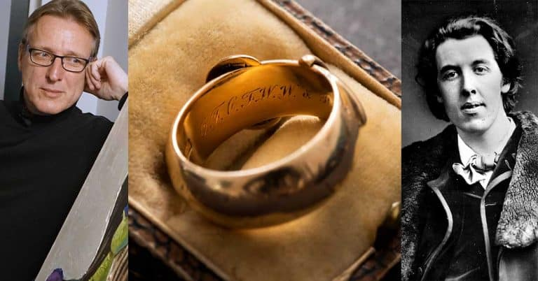 Oscar Wildes stulna ring hittad av konstvärldens Indiana Jones