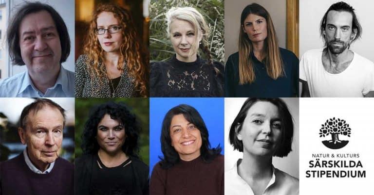 Natur & Kulturs särskilda stipendium 2019 – nio författare får 100 000 kronor vardera