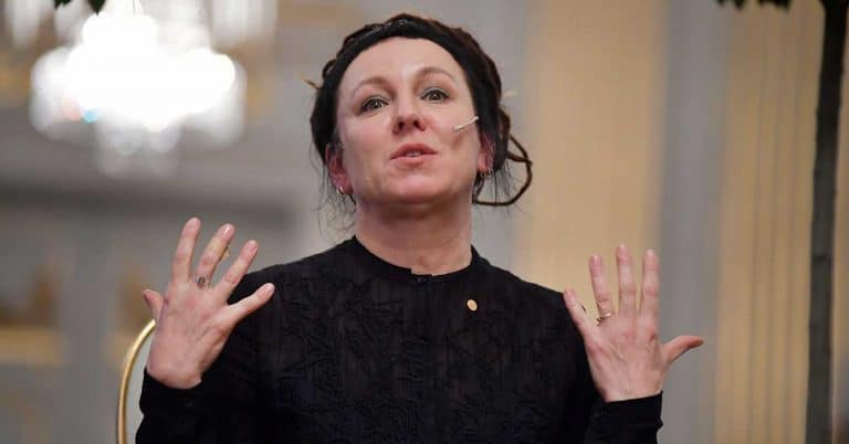 Olga Tokarczuk: Nobelpriset gav polackerna bra energi