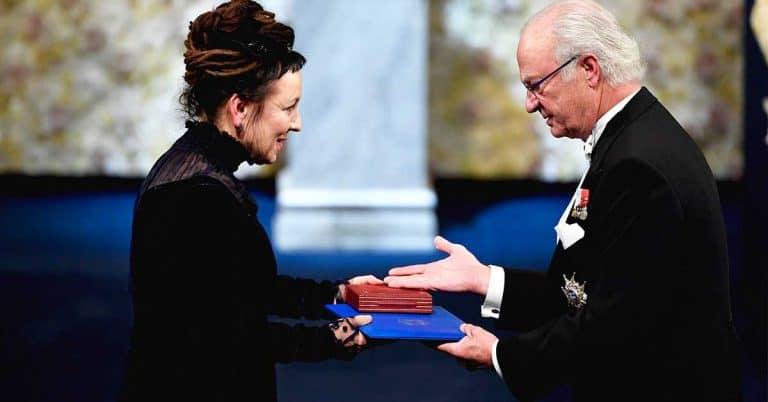 Polsk tv visade Nobelceremonin till slut