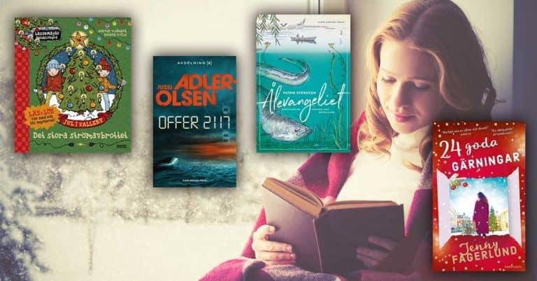 Topplista – november 2019: De mest sålda böckerna i Sverige