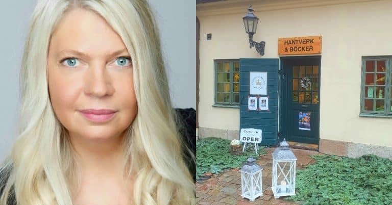 Författaren Anna Ihrén driver Sveriges minsta bokhandel med bara västkustförfattare