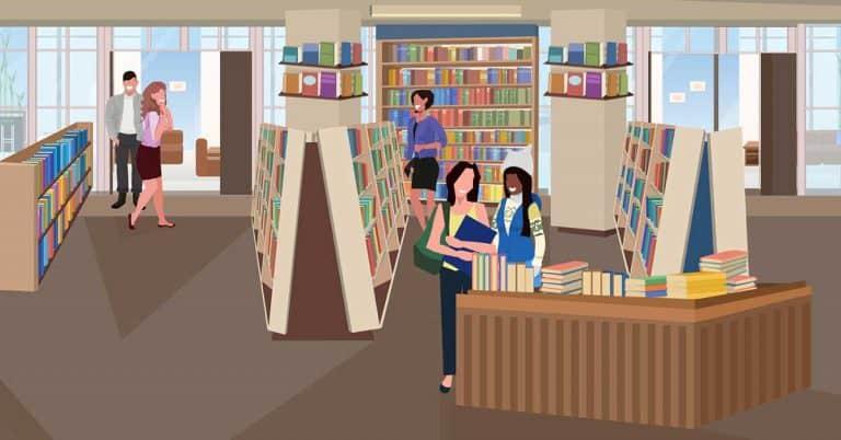 Borde vi betala för att gå in i en bokhandel?