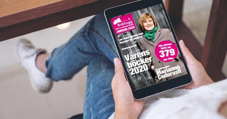 Nu startar vi ett digitalt magasin om månadens nya böcker