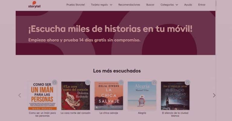 Penguin Random House drar tillbaka spanska titlar från Storytel i Spanien