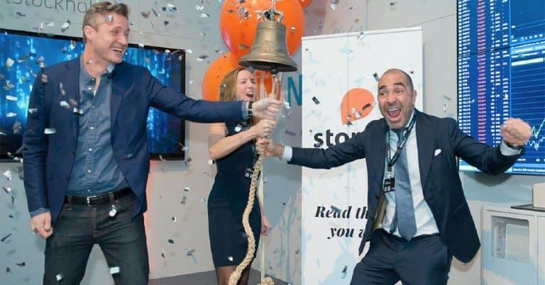Aktieägarna positiva till Storytels plan – bolaget nu värderat till över 10 miljarder kr