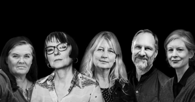 Karin Smirnoff, Vigdis Hjorth och Per Gustavsson besöker Sigtuna Litteraturfestival 9 maj 2020