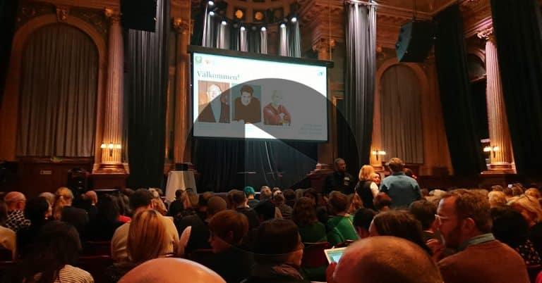 Se Live-sändning på webben från Bok-branschdagen 2020 i Stockholm