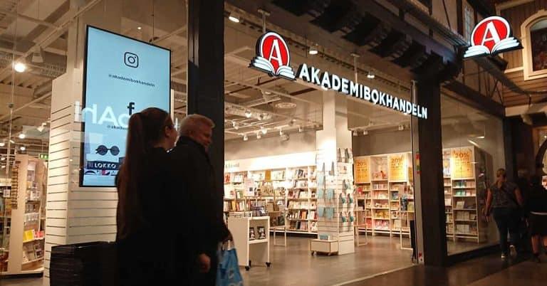 Akademibokhandeln korttidspermitterar – försäljningen 35 procent lägre än normalt
