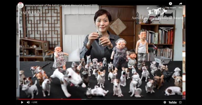 Sydkoreanska illustratören Baek Heena får Alma-priset 2020