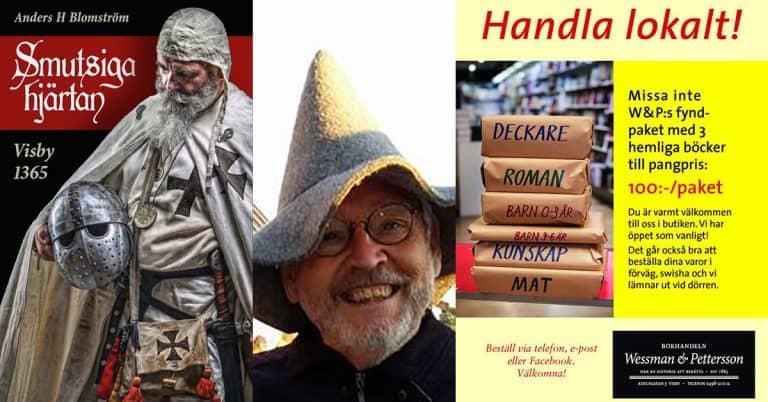 Söndagstuggare: <br>Anders H Blomström om att våga ge ut en bok i coronatider