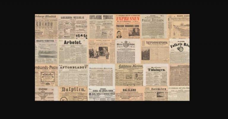Unik möjlighet till research när Kungliga Biblioteket öppnar upp digitalt tidningsarkiv