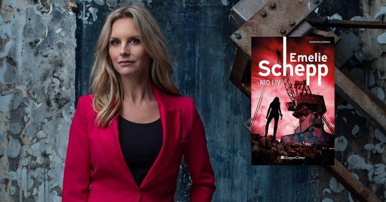 Nya Emelie Schepp-deckaren Nio liv går att beställa redan sju månader före utgivning