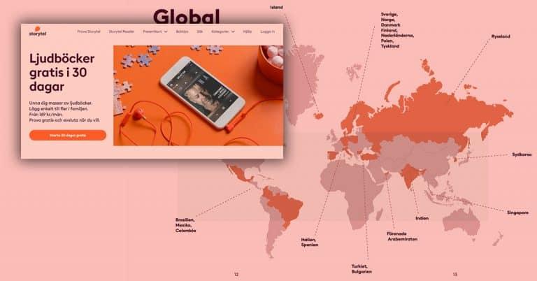 Storytel utökar provperiod till 30 dagar – rekordtillväxt under sista veckorna i mars