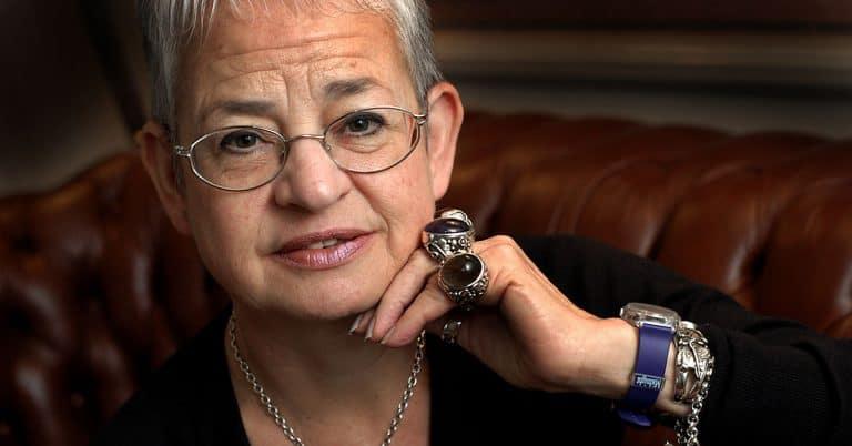 Författaren Jacqueline Wilson: Jag har aldrig varit i garderoben