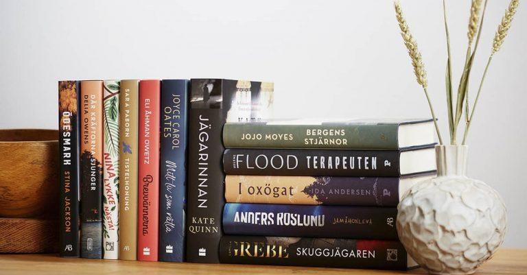 Årets bok 2020 delas ut digitalt genom livesänd prisutdelning