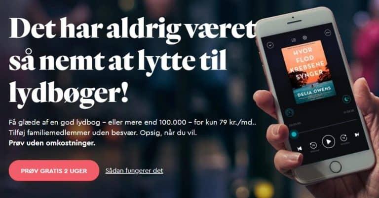 Bookbeats mål med lansering i Danmark: Minst 100 000 kunder