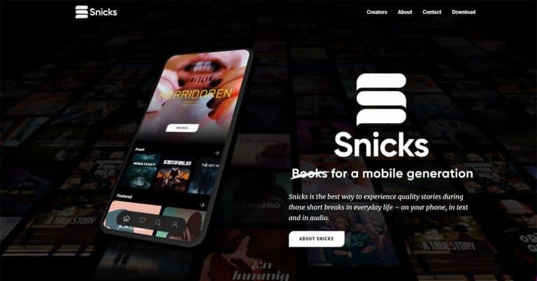 HM-arvinge bakom nya appen Snicks som utmanar bokbranschen