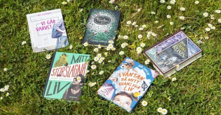 Fem nominerade böcker till Barnradions bokpris 2020
