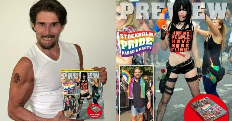 Fotobok om Stockholm Pride släpps i sommar – redan nu finns ett smakprov