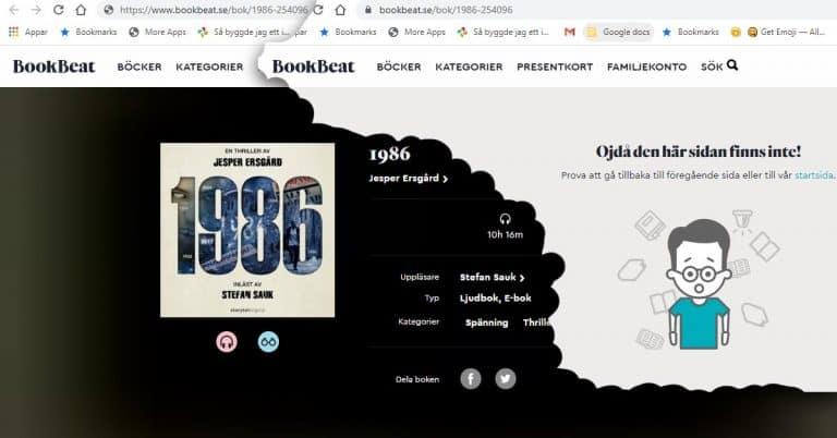 Bookbeat stoppar Storytels reklamkupp – plockar bort Originaltitlarna