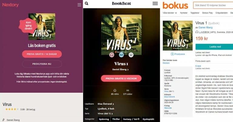 Storytels Original-kupp: släpper succé-ljudböcker hos konkurrenterna Bookbeat och Nextory