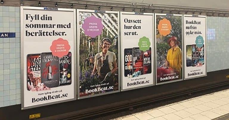 Bookbeat fortsätter växa – målet 400 000 användare och 500 Mkr i omsättning 2020
