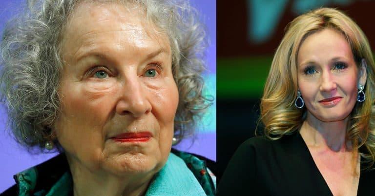 Rowling och Atwood i stort upprop: Yttrandefriheten är under hot