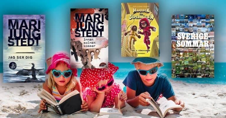 Topplista – juni 2020: De mest sålda böckerna i Sverige