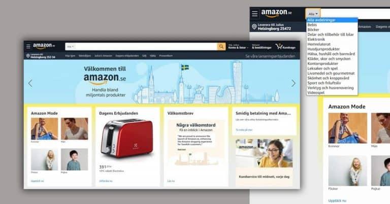 Avslöjandet: Amazon.se är nästan klar för lansering