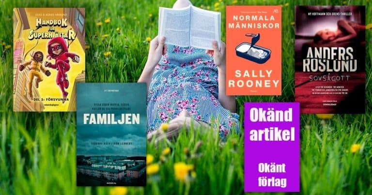 Topplista – juli 2020: De mest sålda böckerna i Sverige
