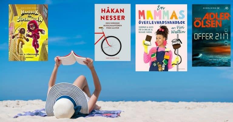Topplista – vecka 32 – 2020: De mest sålda böckerna i Sverige
