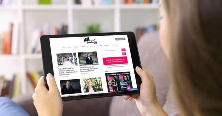 Boktugg är inte bara en blogg med 154 000 unika besökare per månad