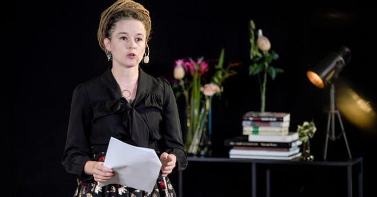 Amanda Lind invigde Bokmässan 2020: Kulturlivet lever trots det svåra läget