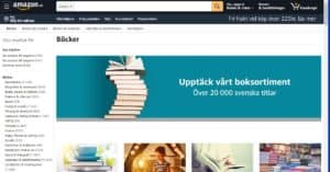 Amazon.se böcker