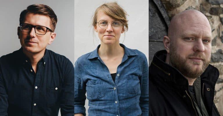 Här är de tre författarna som är nominerade till Spårhunden 2020