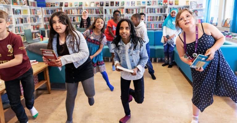 Elinsborgsskolan i Tensta är Årets bokväckare