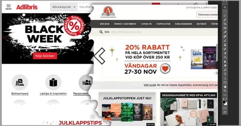 Black Friday 2020: Rekord i nätbokhandel – blandat utfall för fysisk bokhandel