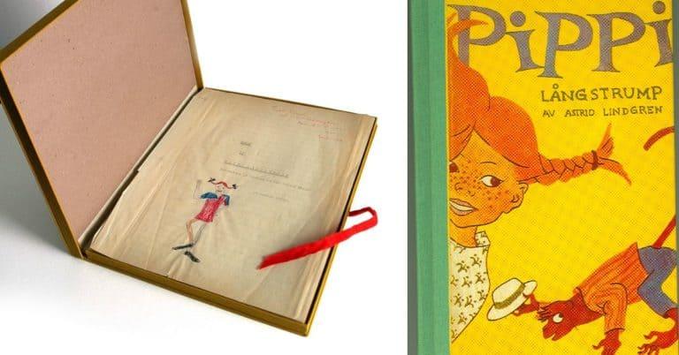 75 år sedan första Pippi Långstrump-boken kom
