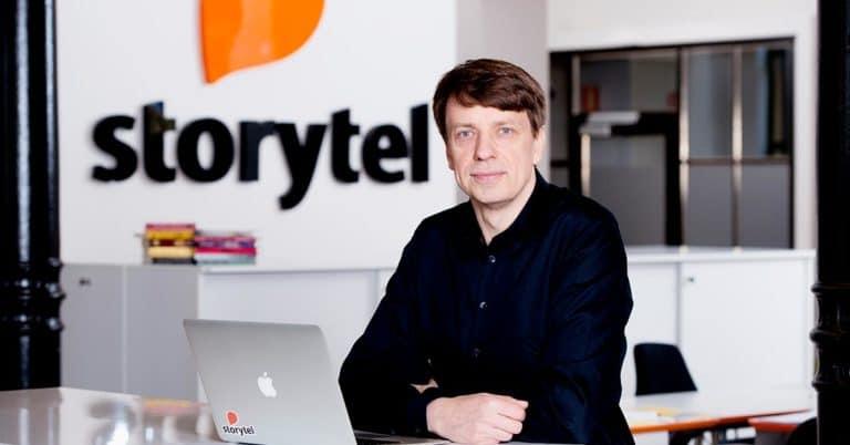 Stefan Tegenfalk lämnar Storytel – Jörgen Gullbrandson tar över hans roll