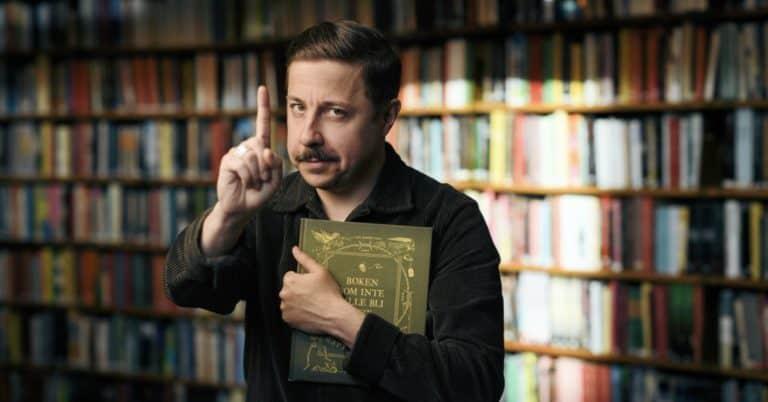 David Sundin gör succé med Boken som inte ville bli läst–följer upp med ljudbok
