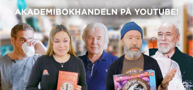 Akademibokhandeln släpper två nya serier på Youtube