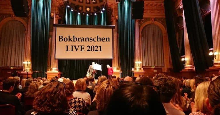 Bokbranchen LIVE 2021 sänds via Bokmässan Play