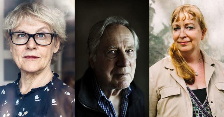 Tre författare får dela på 510 000 kr i priser och stipendier från Akademien