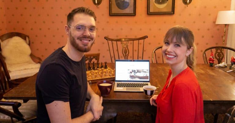 Skrivcafé är en ny digital mötesplats för författare