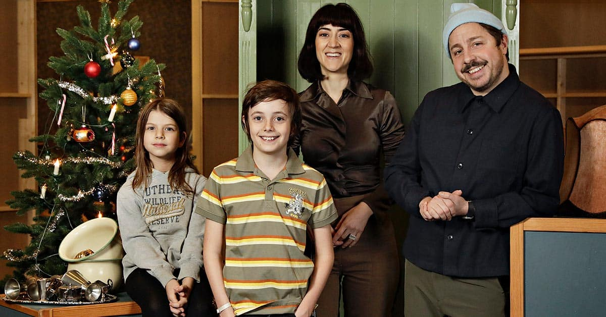 Julkalender SVT Familjen Knyckertz David Sundin
