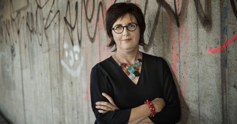 Christina Wahldén skrev bok om Förintelsen för mellanstadiebarn