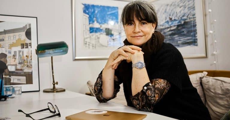"""Barnboksförfattaren Cilla Jackert om succén med SVT-serien """"Tunna blå linjen"""""""